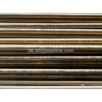 Aluminium Messingrohr ASTM B111 C68700 061